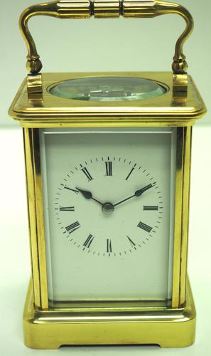 Large Classic Antique French 8-day Gong Striking Carriage Clock c.1880 (1 of 10)