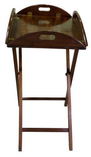 Mahogany Butlers Tray 19th Century (1 of 5)