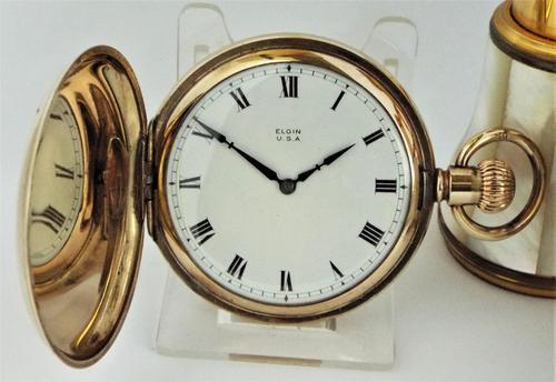 1925 Elgin Full Hunter Pocket Watch (1 of 6)