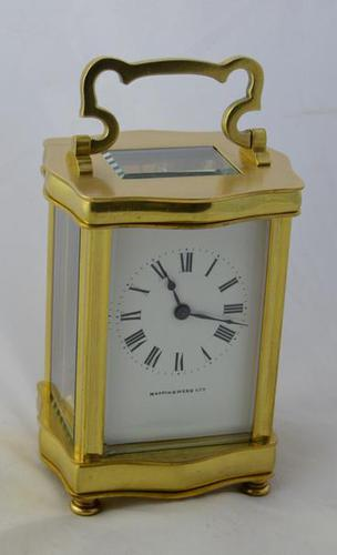 French Carriage Clock Retailed by Mappin & Webb, London (1 of 5)