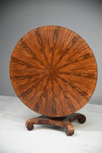 Antique Mahogany Tilt Top Table (1 of 13)