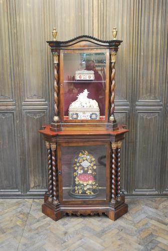 Antique Italian Display Cabinet (1 of 9)