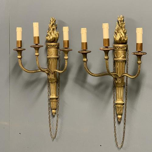 Pair of 19th Century Giltwood Wall Sconce (1 of 6)