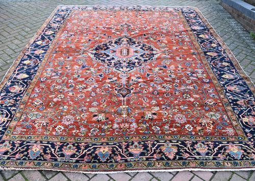 Antique Heriz Carpet 349x265cm (1 of 10)