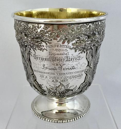 Stunning Irish Silver Beaker - Dublin 1867 (1 of 6)