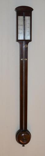 Watkins & Hill London Georgian Stick Barometer (1 of 6)