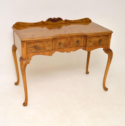 Antique Burr Walnut Server Side Table (1 of 11)