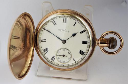 Antique Waltham Full Hunter Pocket Watch 1913 (1 of 6)
