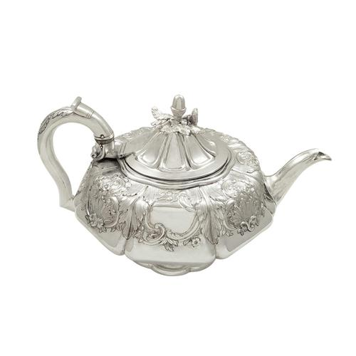 Antique Georgian Sterling Silver Teapot 1827 (1 of 10)