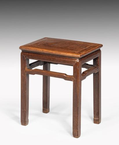Small Early 20th Century Chinese  End Table (1 of 5)