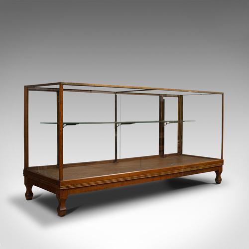 Antique Haberdashery Cabinet, Mahogany, Glass, Museum Showcase, Edwardian, 1910 (1 of 9)