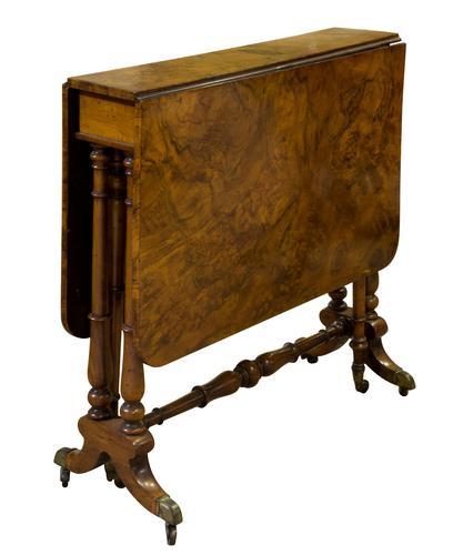 Victorian Walnut Sutherland Table c.1870 (1 of 7)
