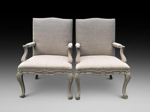 Pair of Decorative Library Chairs (1 of 4)