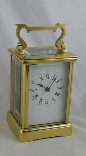 Brass Cased Carriage Clock (1 of 4)