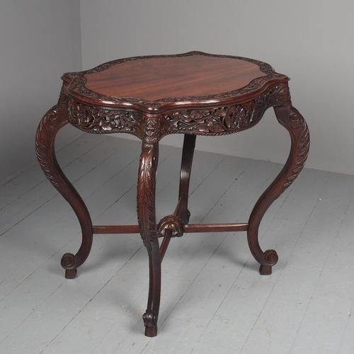 Unusual Anglo-Indian Hardwood Occasional Table (1 of 11)