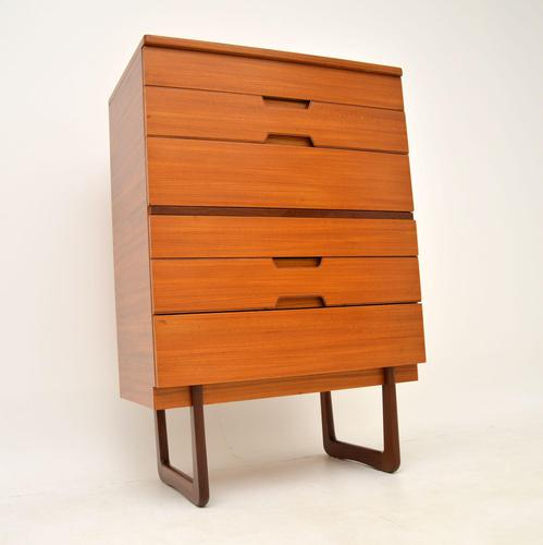 Walnut Chest of Drawers by Uniflex  Vintage  1950's (1 of 11)
