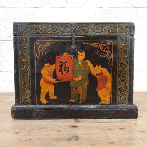 Small Chinese Painted Box (1 of 8)