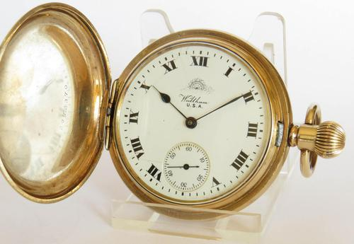 1917 Waltham full hunter Pocket Watch for Thomas Russell (1 of 5)