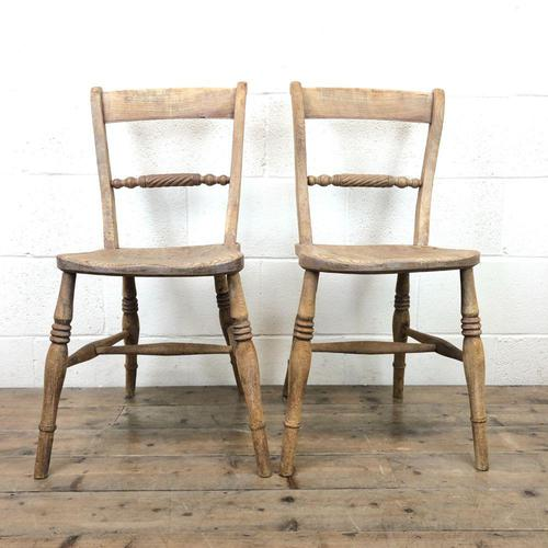 Pair of Chairs with Rope Twist Backs (1 of 10)