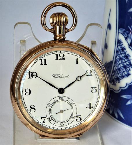 Antique 1920s Waltham Pocket Watch (1 of 5)