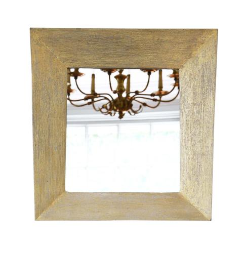 Distressed Gold Overmantle or Wall Mirror (1 of 4)