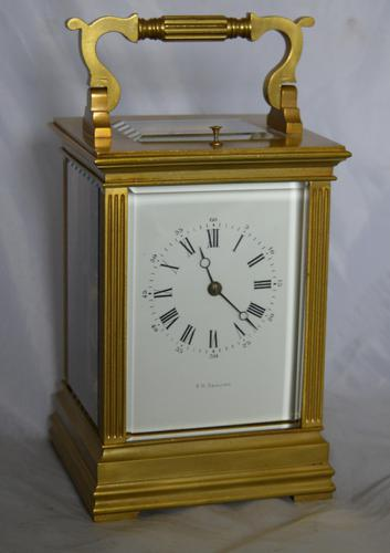 F H Goulding Striking & Repeating Carriage Clock (1 of 1)