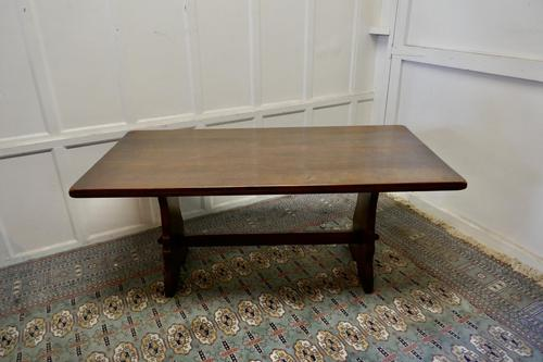 Large Country Oak Refectory Table (1 of 5)