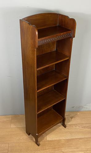 Small Open Mahogany Bookcase (1 of 6)