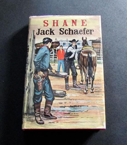 1954 1st Edition Shane by Jack Schaefer with Original Dust Jacket (1 of 5)
