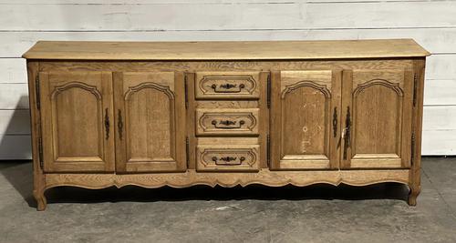 French Bleached Oak Sideboard or Dresser Base (1 of 23)