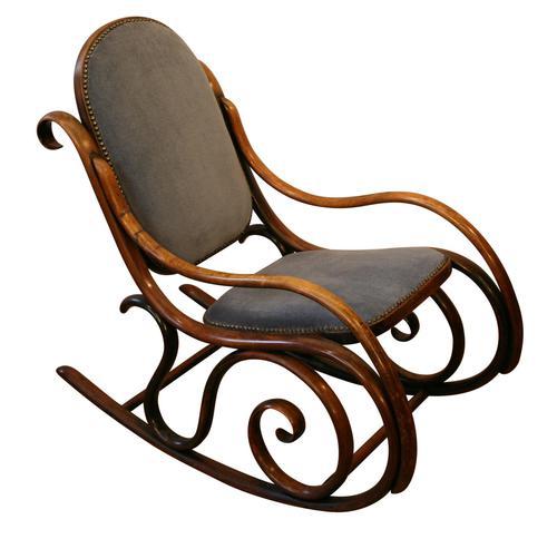 Victorian Beech Bentwood Rocking Chair (1 of 3)