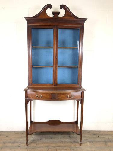 19th Century Glazed Mahogany Bookcase on Stand (1 of 10)