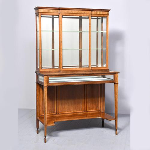 Sheraton Style Display Cabinet (1 of 12)