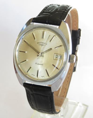 Gents 1960s Rotary wrist watch (1 of 5)