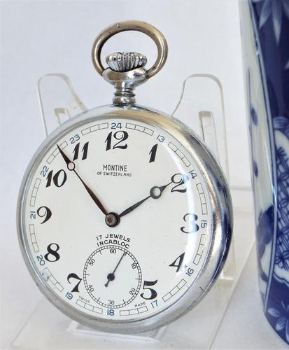 Montine guards pocket watch, British Rail. (1 of 5)