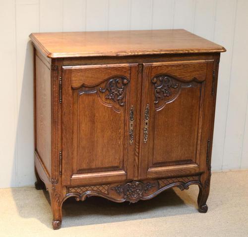 Vintage French Oak Side Cabinet (1 of 8)