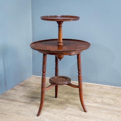 Aesthetic Movement Dumbwaiter Table (1 of 8)