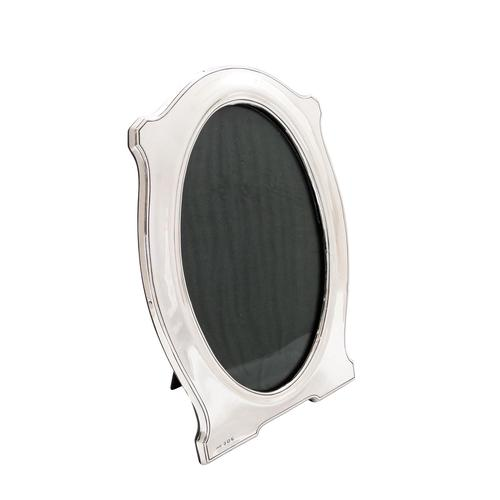 """Antique Sterling Silver 9 1/2"""" Oval Photo Frame 1915 (1 of 10)"""