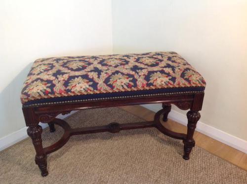 Mahogany Window / Piano Seat (1 of 3)