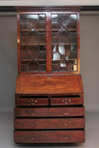 18th Century Mahogany Bureau Bookcase (1 of 7)