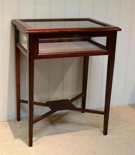 Mahogany Bijouterie / Display Table (1 of 9)