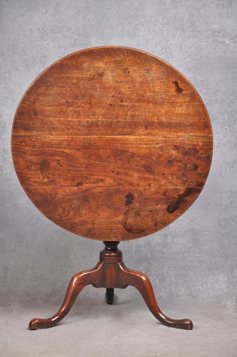 A Rare 18th Century Cherrywood Tripod Table (1 of 10)