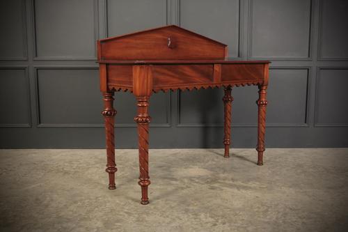 Beautiful Victorian Mahogany Side Table (1 of 11)