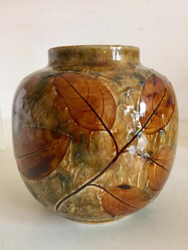 Royal Doulton Stoneware Vase by Maud Bowden c.1920 (1 of 10)