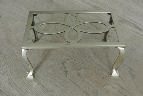 William Tonks Brass Hearth Trivet for Kettle or Pan Circa 1911 (1 of 6)