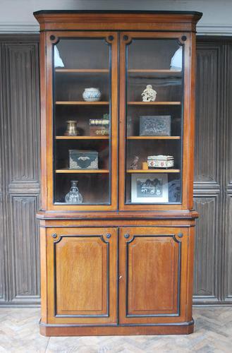 English Oak & Ebonised Bookcase c.1870 (1 of 8)