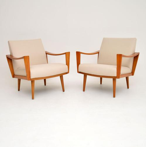 1960's Pair of Dutch Vintage Armchairs (1 of 10)