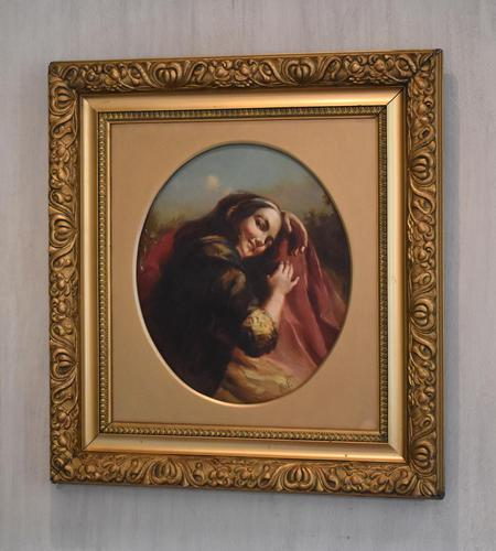 Oil Painting of Kate Kearney - Irish Beauty (1 of 9)