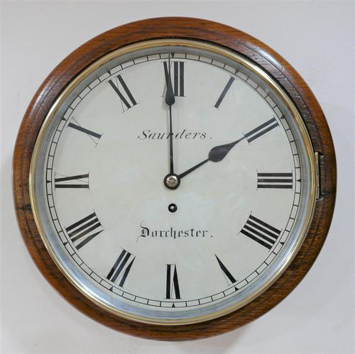 """Superb 12"""" English Fusee Dial Timepiece by Thomas Saunders 1835 (1 of 8)"""