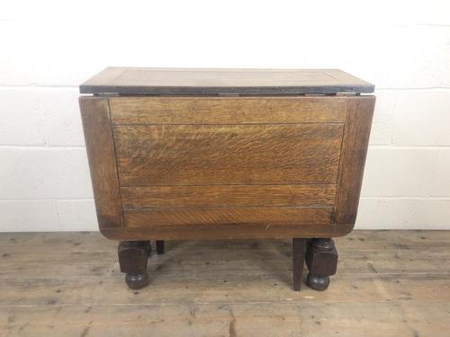Early 20th Century Antique Oak Gateleg Table (1 of 9)